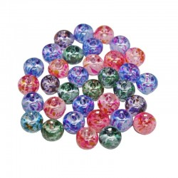 Multi-Color Painted Bead