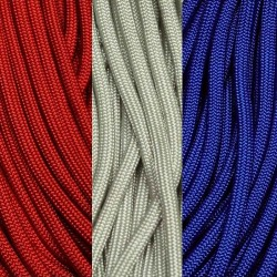 550 Paracord Silver Grey (Gray) Made in USA