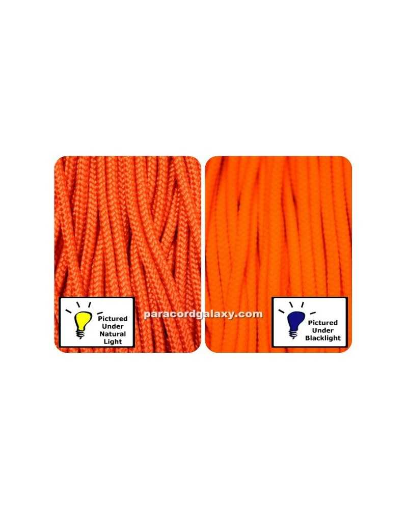425 Paracord NEON Orange 100 ft Made in USA