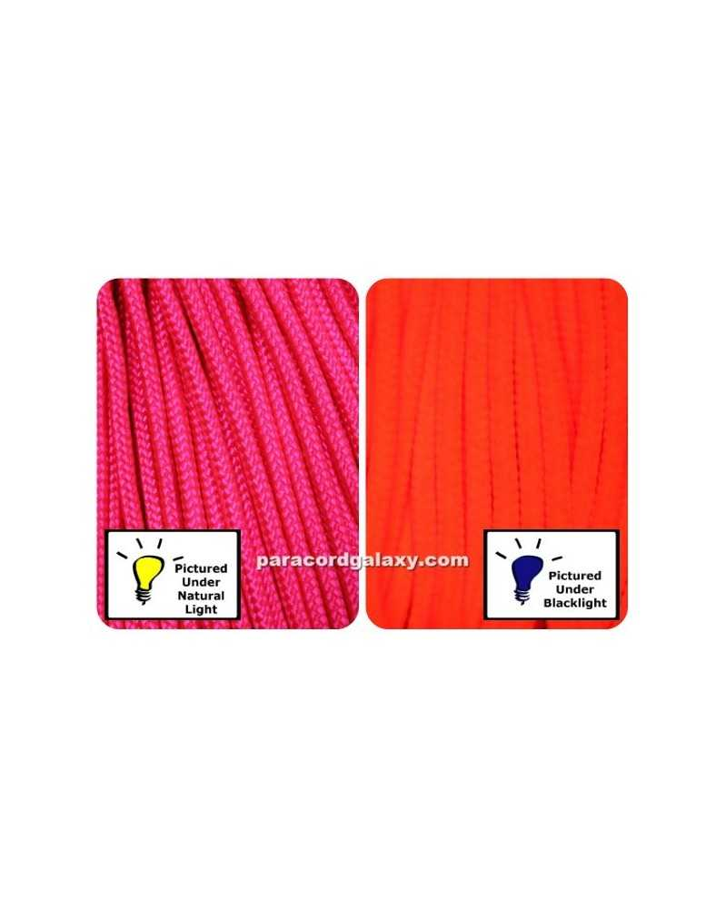 425 Paracord NEON Pink 100 ft Made in USA