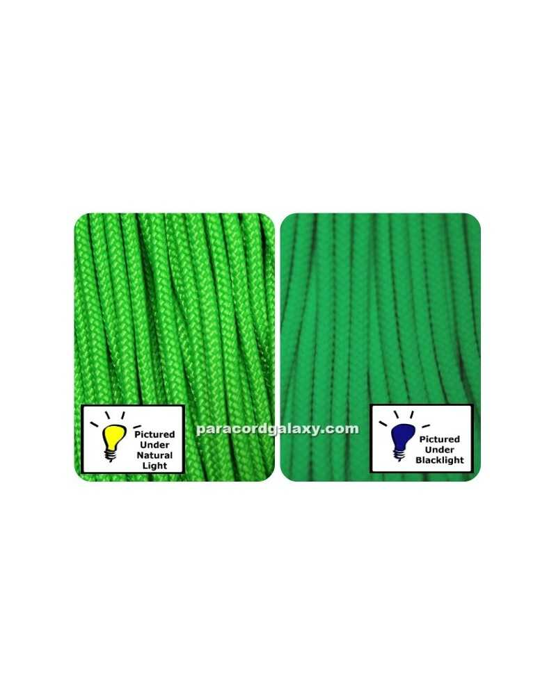 425 Paracord NEON Green 100 ft Made in USA