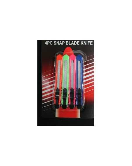 Snap Blade Knife 4 Pack