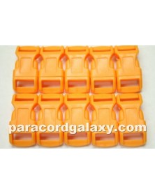 "10 PACK - 1/2"" - NEON ORANGE - Side Release Buckles"