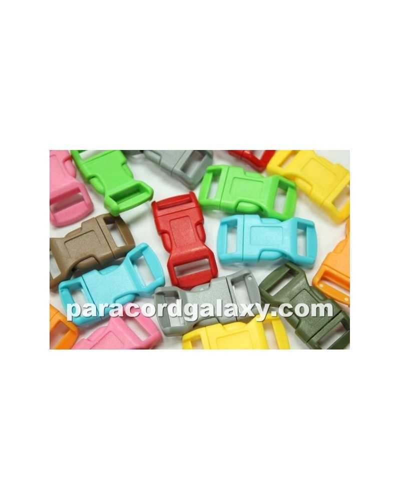 "50 PACK - 1/2"" - MIXED COLOR - Side Release Buckles"