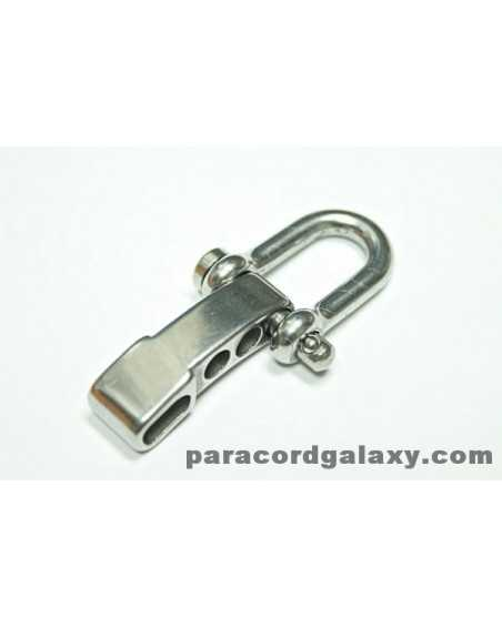 Heavy Duty Stainless Steel U Shackle ADJUSTABLE with Clevis Pin