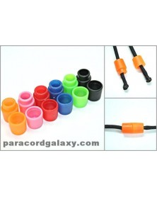 60 PACK Mixed Colors of Pop Barrel Connectors for Paracord