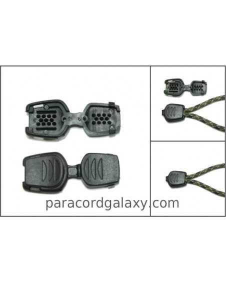 Zipper Pull/Cord-End for Paracord & Bungee/Shock Cord