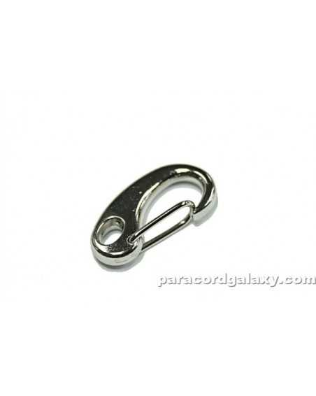 SINGLE - 1 1/4 IN (32mm) ZINC ALLOY Teardrop Snap Clasp