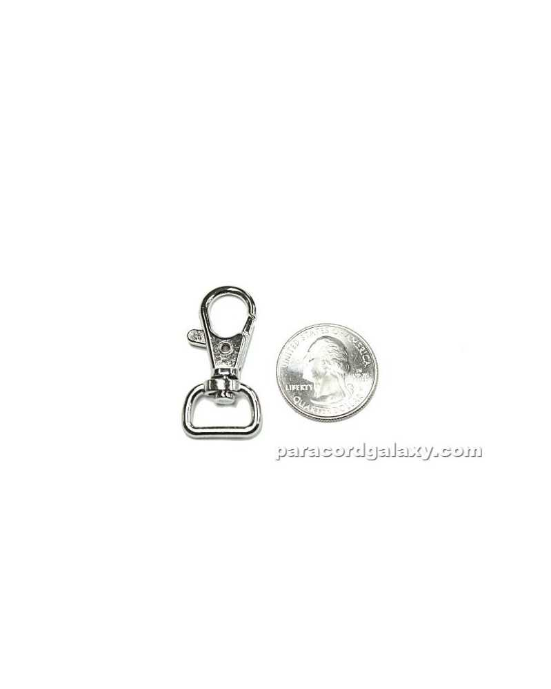 10 PACK - 13mm Trigger Clasp with Wide Swivel Eye