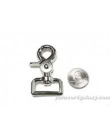 SINGLE - 25mm Heavy Duty Trigger Clasp with Wide Swivel Eye