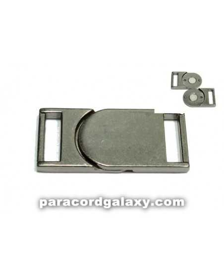 5/8 IN - Flat Magnetic Buckles - Ancient Black