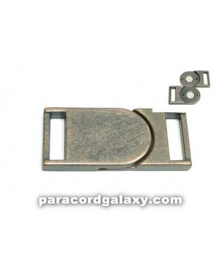 5/8 IN - Flat Magnetic Buckles - Ancient Copper