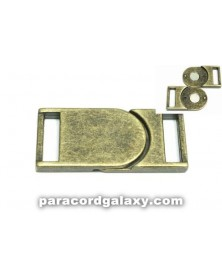 5/8 IN - Flat Magnetic Buckles - Ancient Bronze
