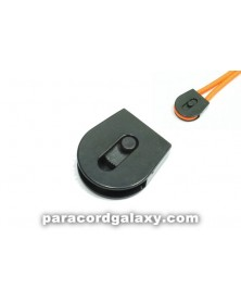 SINGLE - 4mm Plastic Cord Lock w/Wheel