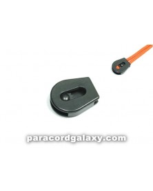 SINGLE - 3mm Plastic Cord Lock w/Wheel