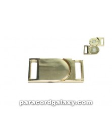 5/8 IN - Flat Magnetic Buckles - Gold