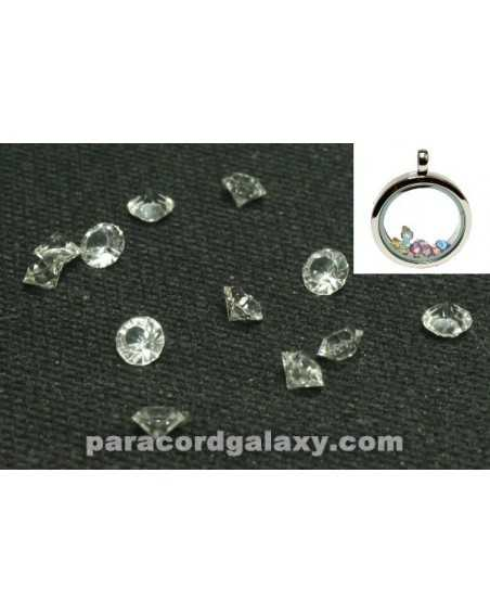 Birthstone Floating Charms Clear