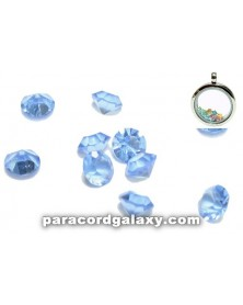 SINGLE - Birthstone Crystal Floating Charms Dark Blue