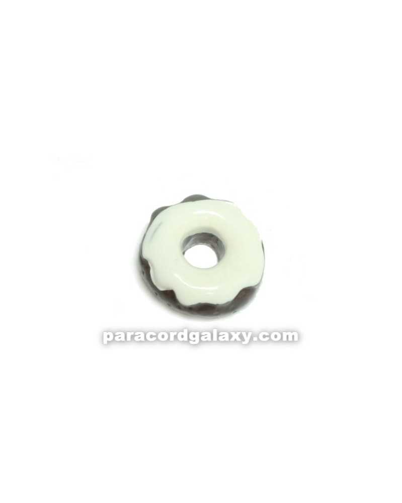 Floating Charm Donut White