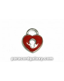 Floating Charm Heart Lock