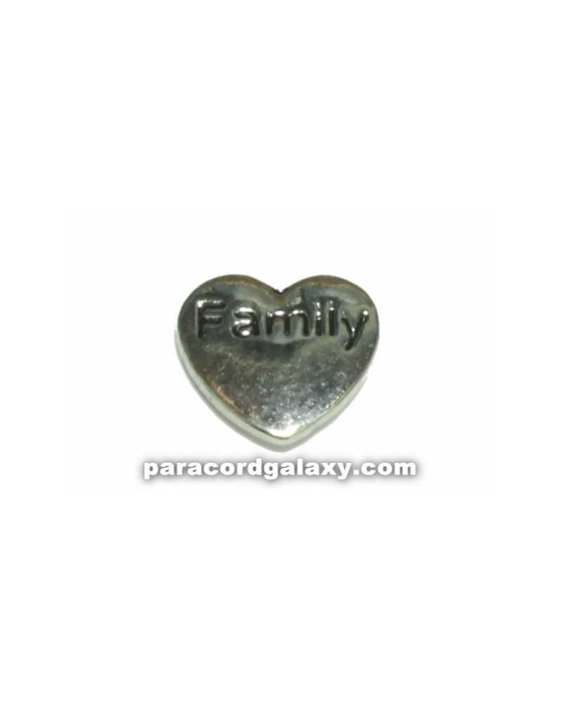 Floating Charm Heart - Family