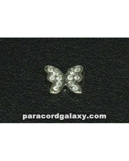 Floating Charm Jeweled Butterfly