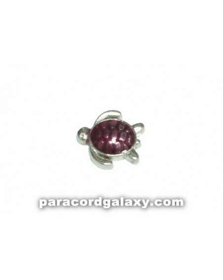 Floating Charm Turtle Purple