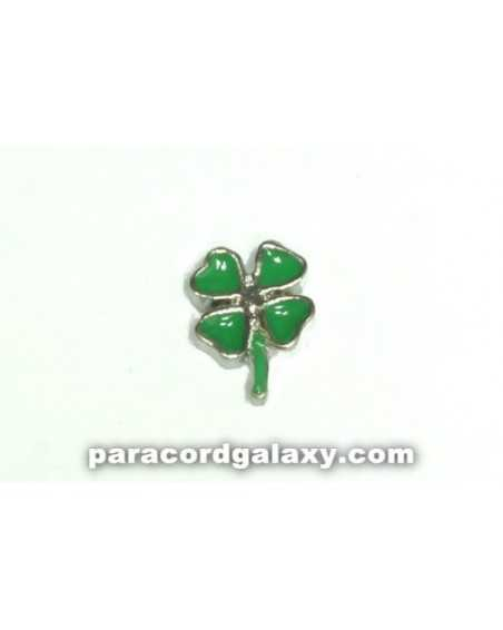 Floating Charm Clover Four Leaf