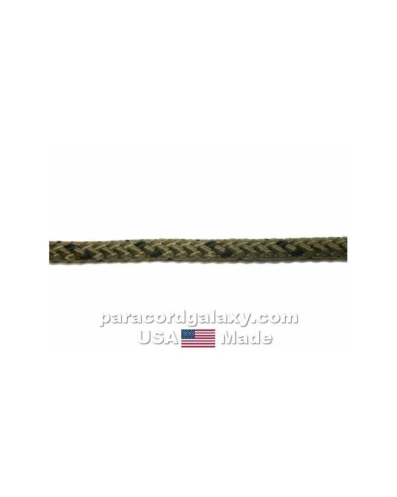 "3/16"" Rope - OD with Black – USA Made"