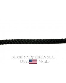 3/16 inch polypropylene rope - black - USA Made