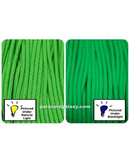 Type 1 Paracord Neon Green Made in USA