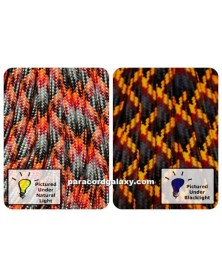 550 Paracord Lava Made in USA
