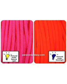 550 Paracord NEON Pink Made in USA