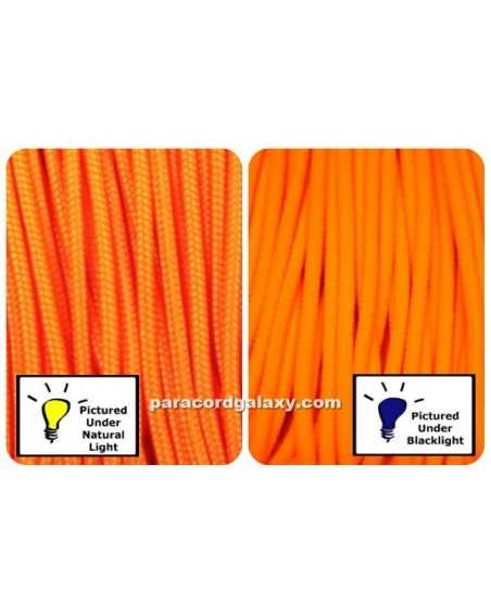275 Tactical Paracord NEON Orange Made in USA