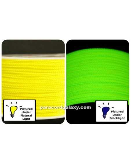 Nano Cord Neon Yellow .75mm Made in USA