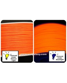 Nano Cord Neon Orange .75mm Made in USA