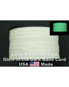Nano Cord Glow-in-the-Dark White .75mm Made in USA