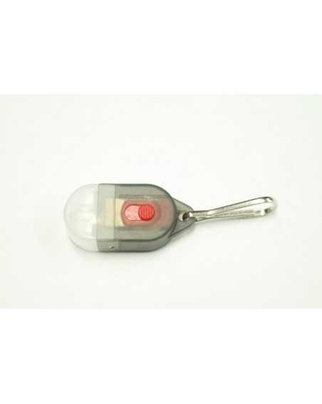 Mini LED Zipper Pull Light for Type 1 & Micro Paracord - Grey