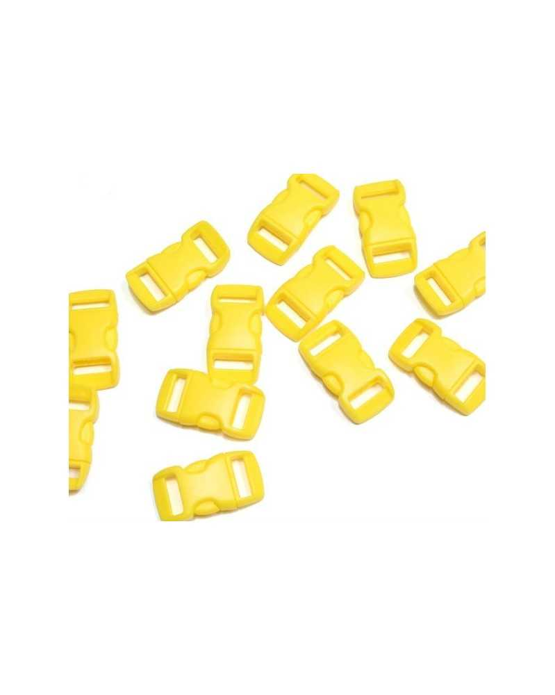 3/8 IN - YELLOW - Side Release Buckles