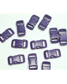 3/8 IN - PURPLE - Side Release Buckles