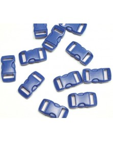 3/8 IN -Dark BLUE - Side Release Buckles