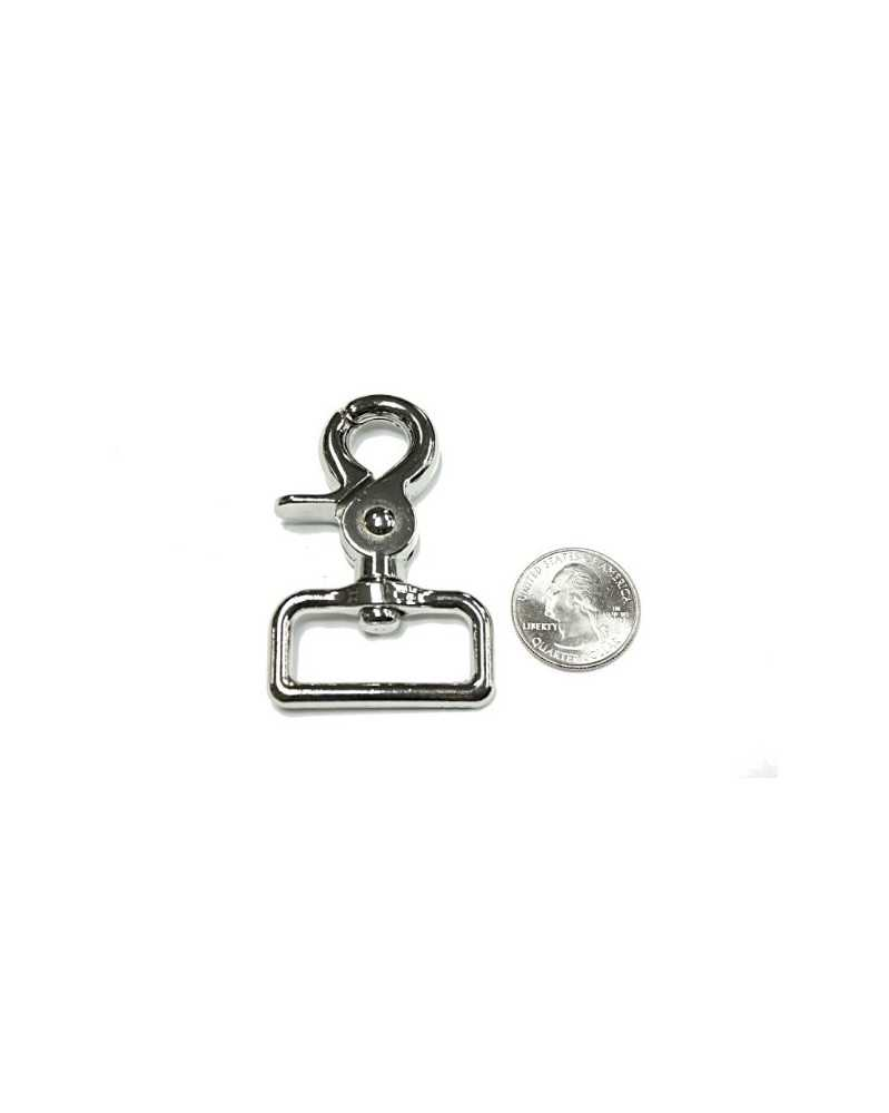 32mm Heavy Duty Trigger Clasp with Wide Swivel Eye