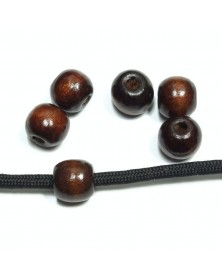 Dark Wood Bead