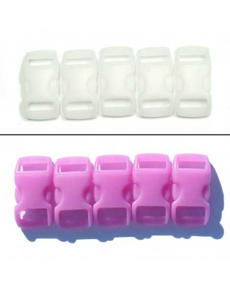3/8 IN - PINK - COLOR CHANGING Side Release Buckles