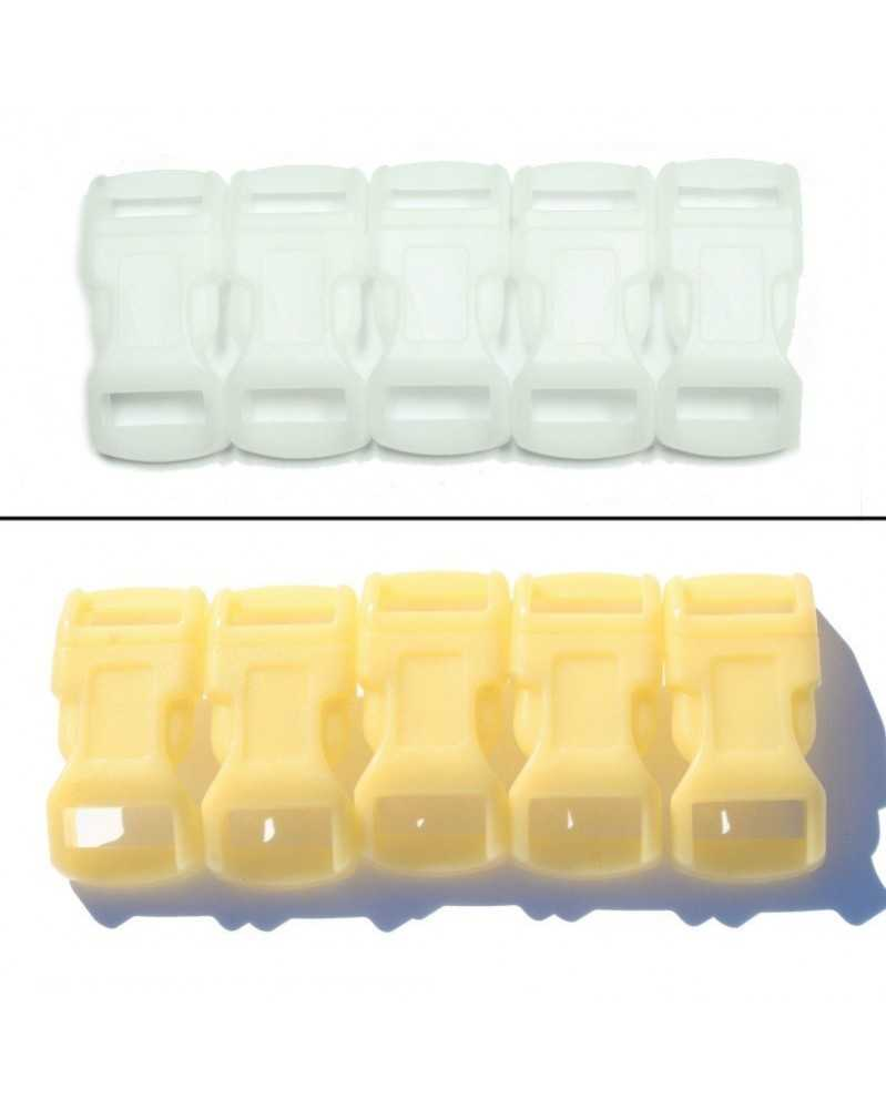 1/2 IN - YELLOW - Color Changing Side Release Buckles