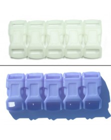 1/2 IN - BLUE - Color Changing Side Release Buckles