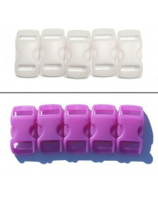 3/8 IN - PURPLE - COLOR CHANGING Side Release Buckles