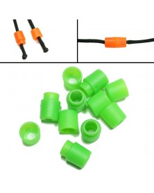 GREEN Pop Barrel Connectors for Paracord