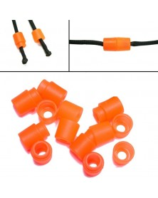 ORANGE Pop Barrel Connectors for Paracord