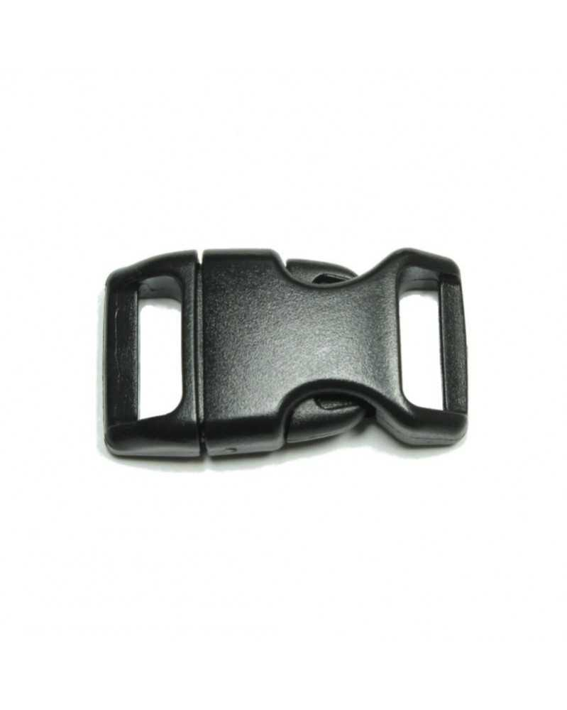 "10 PACK - 5/8"" - BLACK - Side Release Buckle"